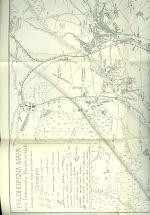 Mapa okoli pribramskeho  Plan kral hor  mesta Pribrami  polohopisna mapa dolu Pribramsko  Brezohorskych