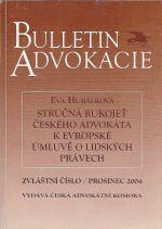 Bulletin advokacie  zvlastni cislo  prosinec 2004
