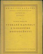 Vybrane kapitoly z narodniho hospodarstvi