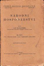 Narodni hospodarstvi IIII