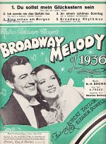 Brodway melody of 1936