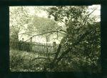 Dum v zahrade  originalni fotografie