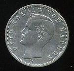 2 Marka 1902 D  Bavorsko  Otto