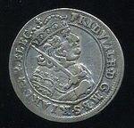 6 Gros 1685 HS BranibPrusko Fridrich Wilem