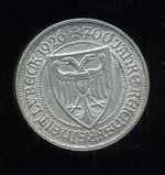 3 Marka 1926 A Nemecko Vymarska republ