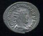 AR Antoninianus  Rim  cisarstvi  Philippus I