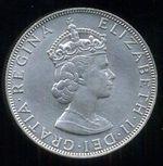 Bermudy  Elizabeth II  1952   Crown 1964