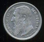 2 Frank 1904  Belgie  Leopold II