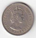 Shilling 1958 Fiji Elizabeth II