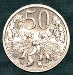 50 Haler 1922