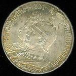 5 Marka 1901 A Prusko Vilhelm II