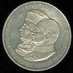 5 Marka 1909  univ Lipsko Sasko FrAugust III