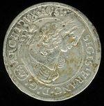 XV Krejcar 1664  Tyrolsko Zikmund Franz