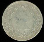 20 Krejcar 1791B Uhry Leopold II