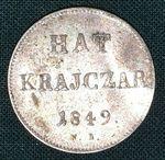 6 Krejcar 1849  RakouskoUhersko Fr Josef I