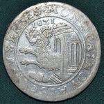 Tolar 1621 Svycarsko kanSchaffhausen