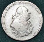 Tolar 1799 B  Prusko Fr Vilhelm II