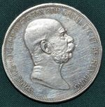 5 Koruna 1909 RakouskoUhersko FrJosef I
