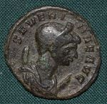 AE Antoninianus  Rim  cisarstvi Severina