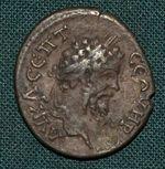 AR Drachma Septimius Sever Cappadocia Caesarea - c909 | antikvariat - detail numismatiky