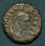 Carus Egypt Alexandria Biltetradrachma rok 1