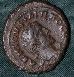 Bil tetradrachma  Philippus I  Egypt  Alexandria