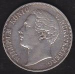 Tolar spolkovy  1858  Wurttemberg  Wilhelm I  - A8220 | antikvariat - detail numismatiky