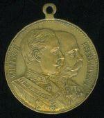 Manevrov  medaile  Velke Mezirici 1909