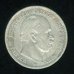 Prusko  Wilhelm I  1861 1888  2 Marka 1876 A