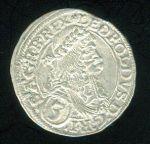 Rakousko Leopold I 1657  1705 3 Krejcar 1672