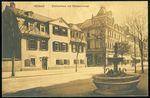 Weimar  Schillerhaus mitGansebrunnen