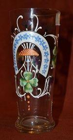 Malovana sklenice