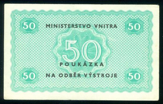 50 Koruna b l  - 9509 | antikvariat - detail bankovky