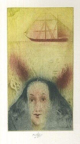 Plachetnice - Safar Karel | antikvariat - detail grafiky