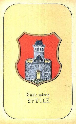 Znak mesta Svetle | antikvariat - detail grafiky
