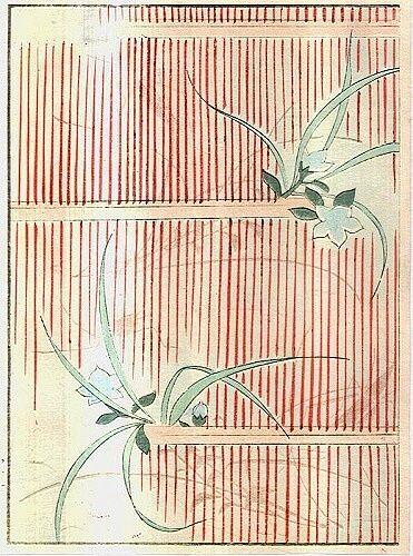 Japonerie | antikvariat - detail grafiky
