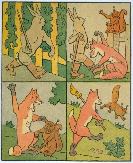 Jak se do lesa vola   - Lada Josef | antikvariat - detail grafiky