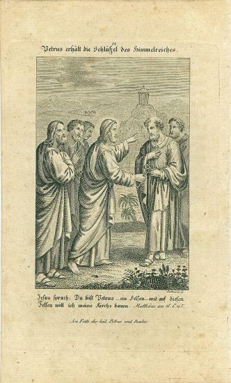 Evangelium | antikvariat - detail grafiky