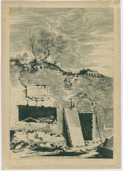 Otevreny hrob - neurceno | antikvariat - detail grafiky