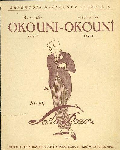 Okouni  okouni  Zimni revue - Razou Sasa | antikvariat - detail knihy