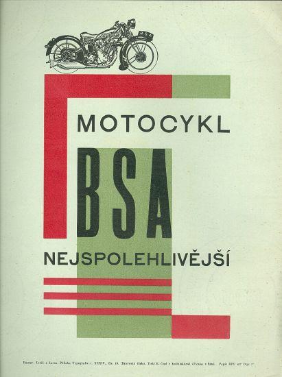 Motocykl BSA nejspolehlivejsi | antikvariat - detail knihy