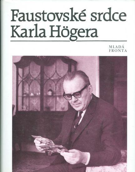 Faustovske srdce Karla Hogera | antikvariat - detail knihy