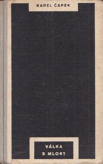 Valka s mloky - Capek Karel | antikvariat - detail knihy