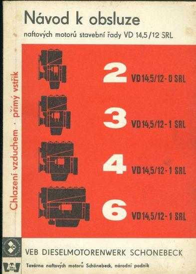 Navod k obsluze naftovych stavebni rady VD 14 5  12 SRL | antikvariat - detail knihy