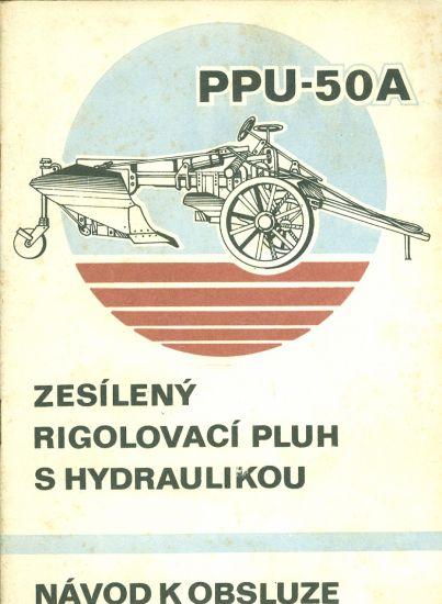Zesileny rigolovaci pluh s hydraulikou PPU  50A   antikvariat - detail knihy