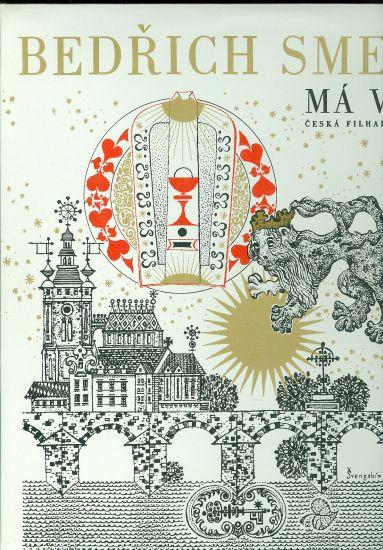 Ma vlast  2 LP - Smetana Bedrich   antikvariat - detail knihy