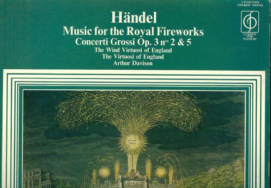 Music for the Royal Fireworks - Handel | antikvariat - detail knihy