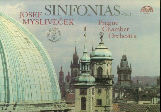 Sinfonias vol 2 - Myslivecek Josef   antikvariat - detail knihy