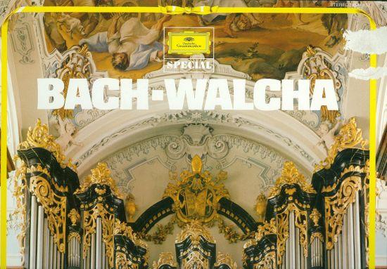 Bach  Walcha | antikvariat - detail knihy