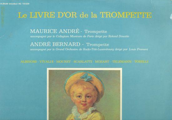 Le Livre dor de la Trompette  2 LP | antikvariat - detail knihy